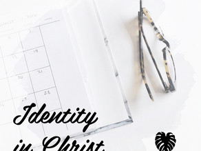 What is my Identity in Christ