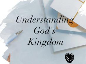 Bible Studies help us understand God's Kingdom Plan