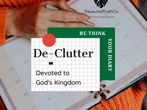 Devoting myself to God's Kingdom