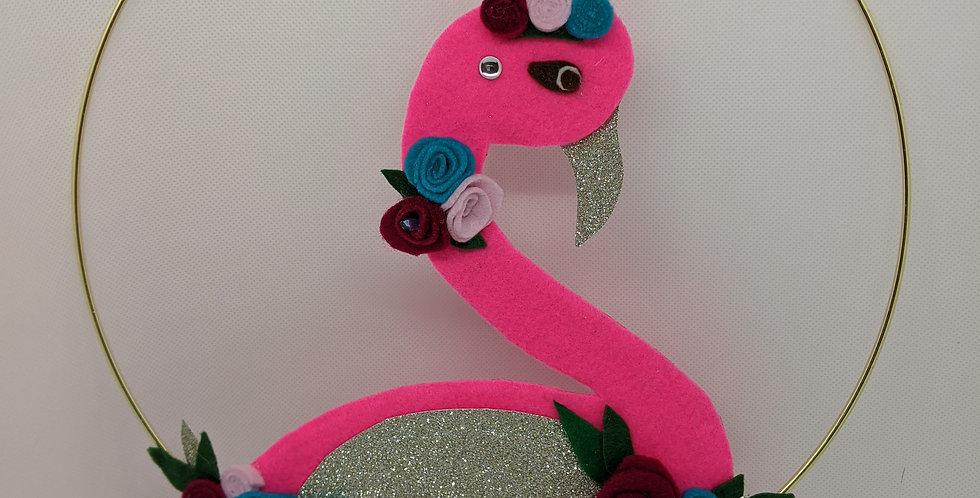 Flamingo Princess wall decoration