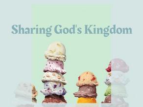 Sharing God's Kingdom