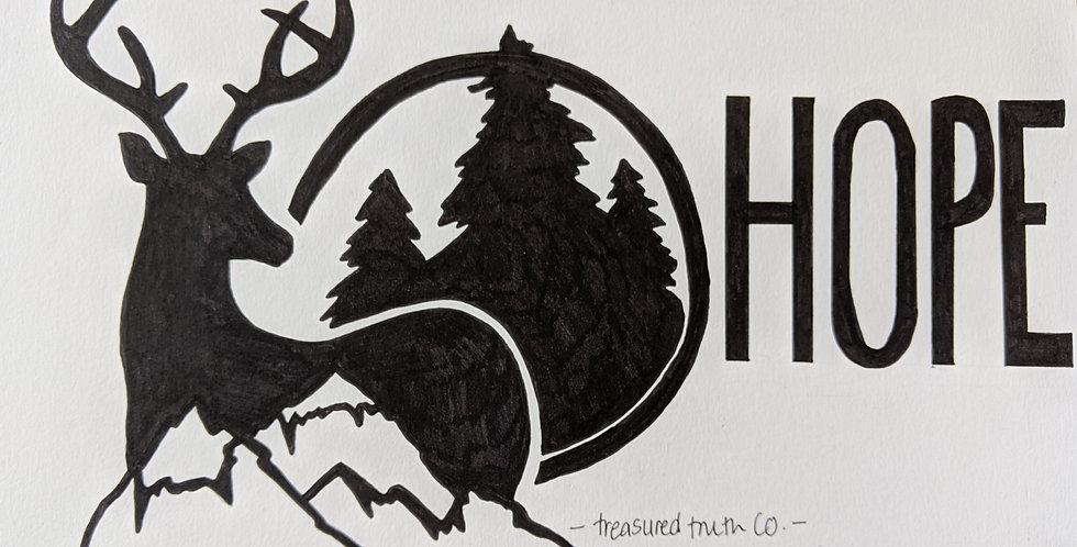 Hope - Wanderlust Poster