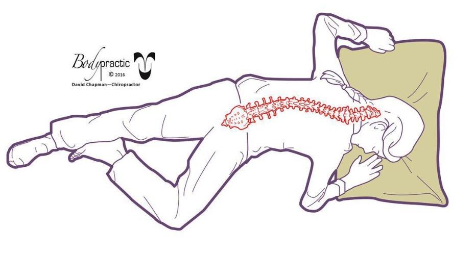 Tummy Sleeping - comfortable but TERRIBLE !