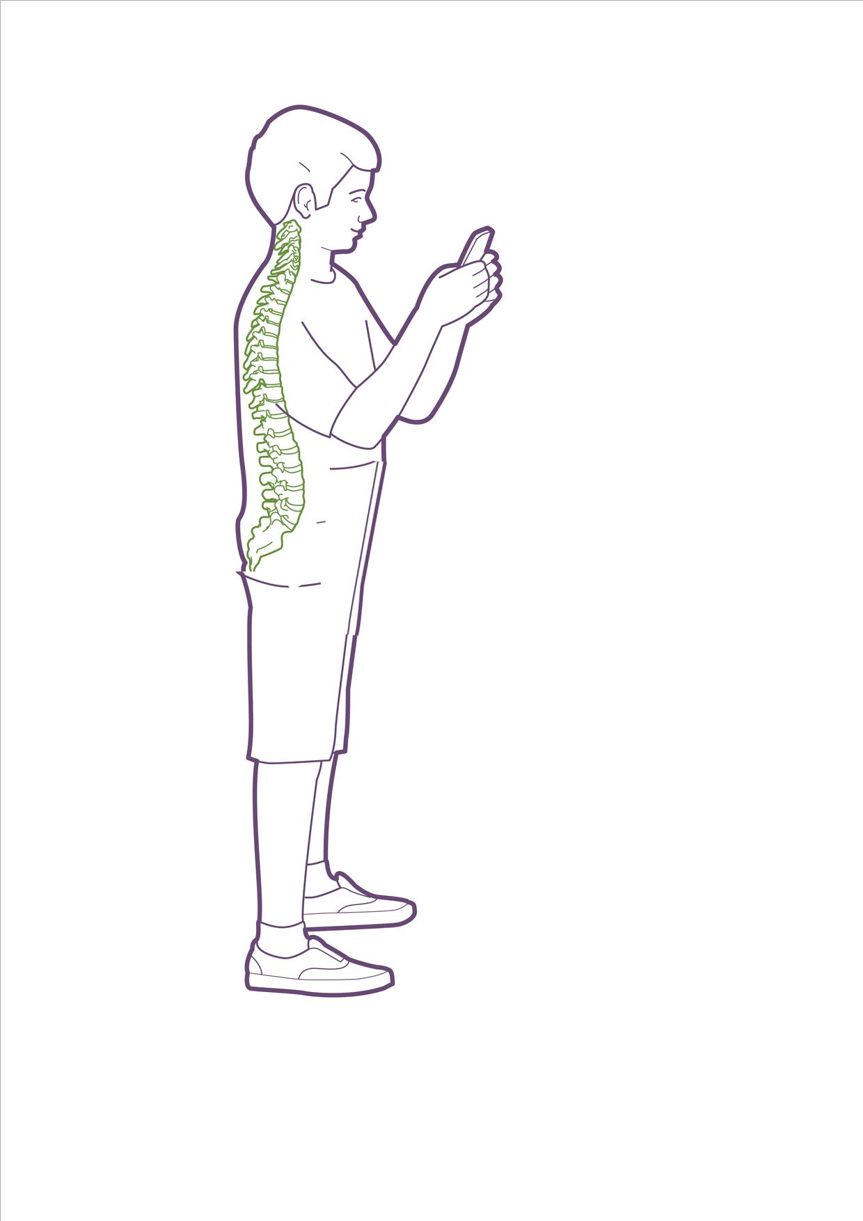 standing good phone use  elbopws in spine in green 18 07 2016.jpg