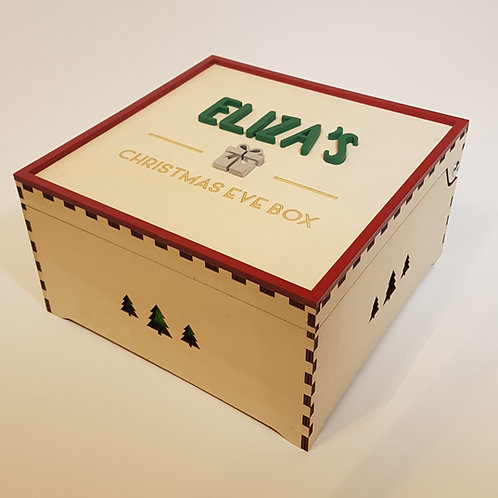Christmas Eve box (Christmas tree design)