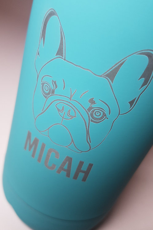 Insulated bottle - French Bulldog