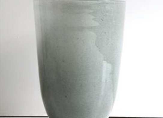 Vase Corfu light gray