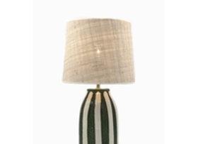 Lampe de table Palmaria Noir  HT46 x L13CM