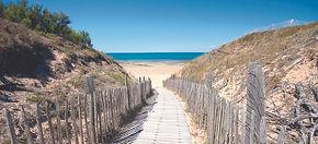 ile de Ré, le Bois Plage, plage des Gollandières, location meublé, mobilier, plage, extérieur, piscine, océan, surf, paddle board,