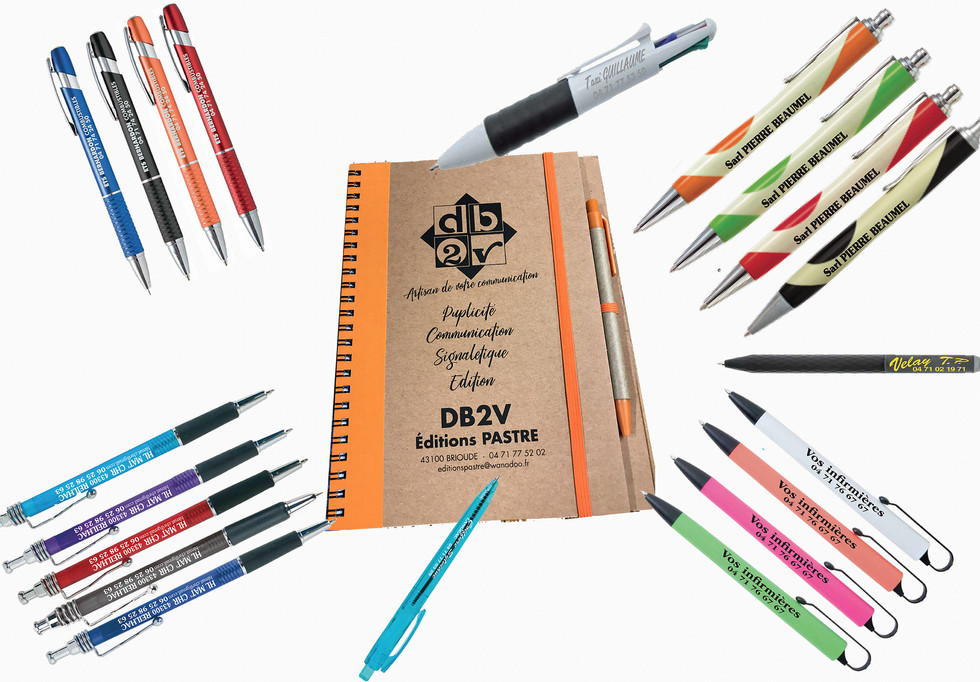 13 objet publicitaire stylos editions pa