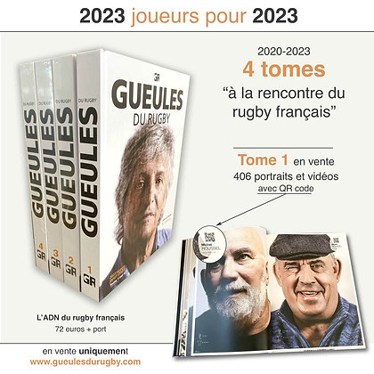 GUEULES DU RUGBY TOME 1 - 2020