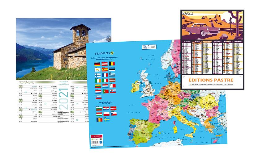 édition de calendriers personnalisés édi