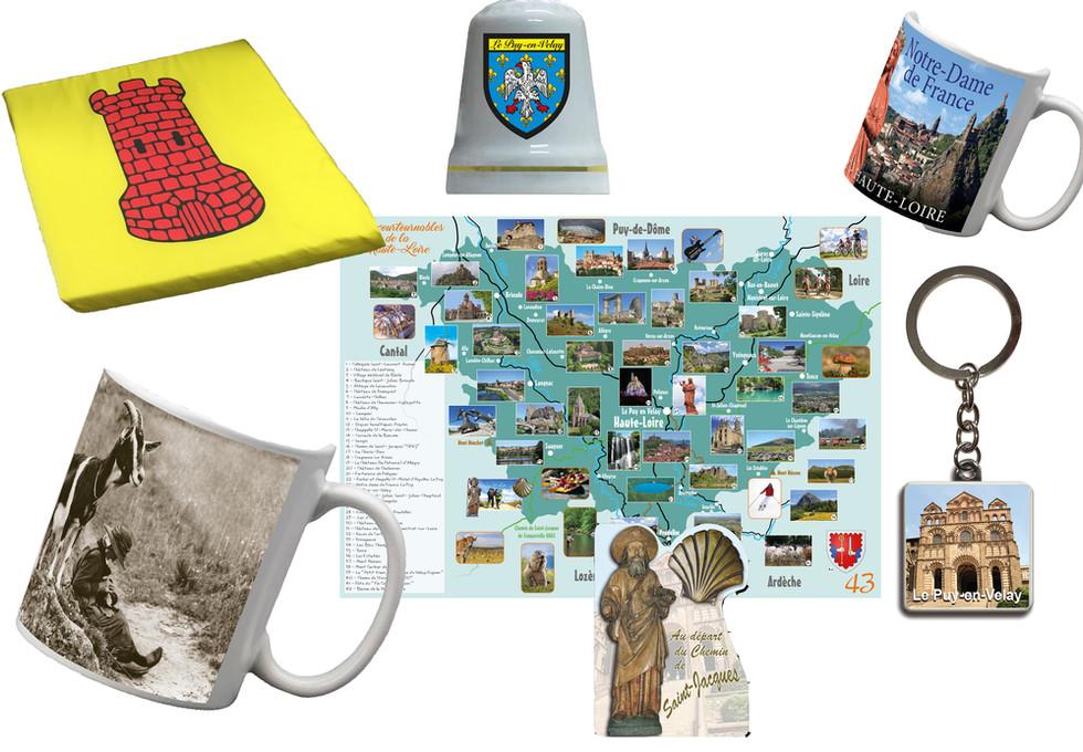 4 objet TOURISTIQUE le Puy editions past