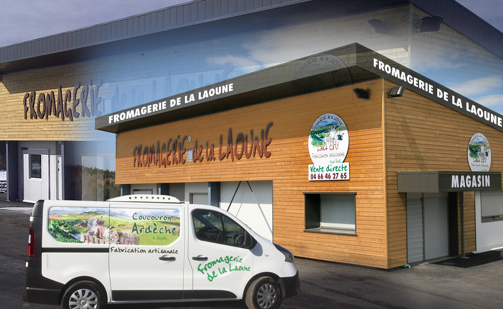 3 fromagerie marquage vehicule panneau v