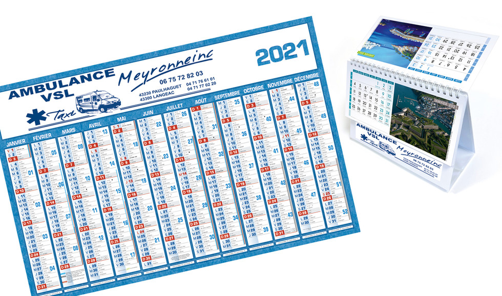 5 calendrier bancaire ambulance1 edition