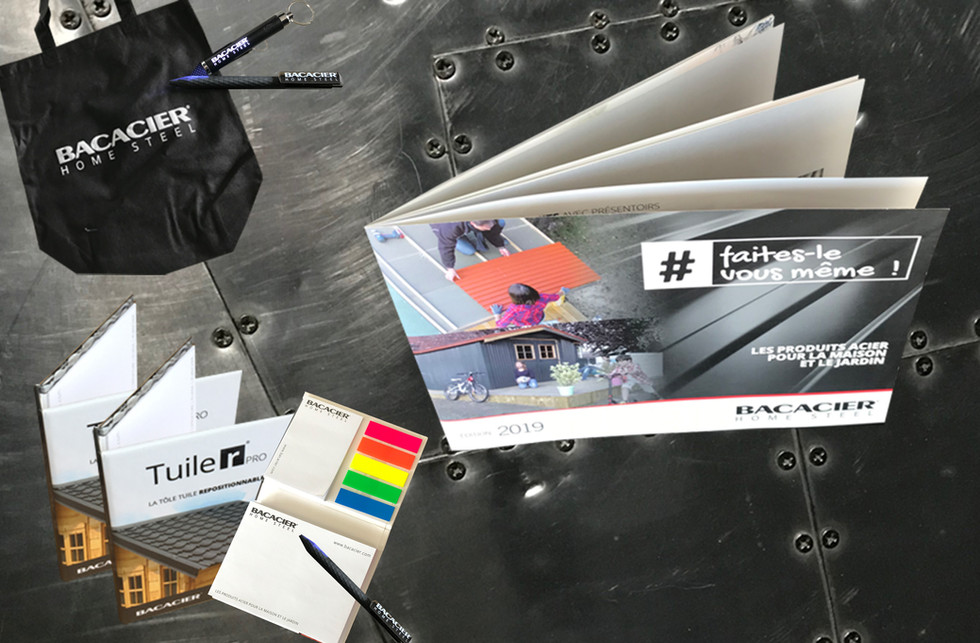 7 post it et brochure industrie goodies