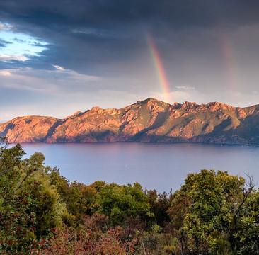 Le plus beau panorama de l'île