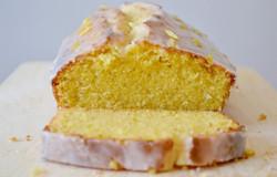 Gâteau glaçage citron