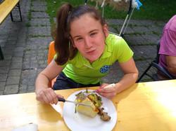 Merci Sandra pour ce bon repas concocté avec les légumes de notre potager!