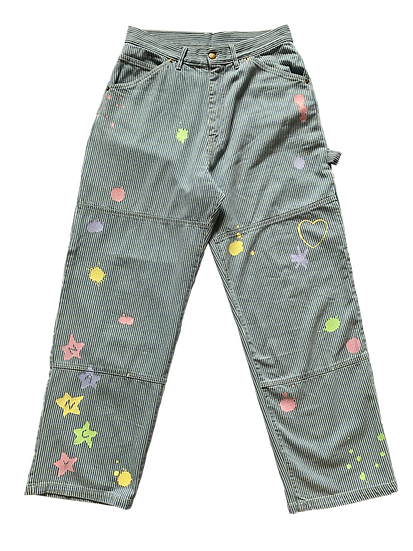 Wide Stan Ray Nancy Pants- Bleached Hickory