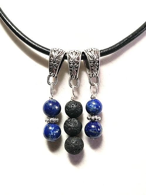 Lapis Lazuli Diffuser Pendant