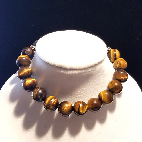 Tigers Eye Diffuser Bracelet - Medium