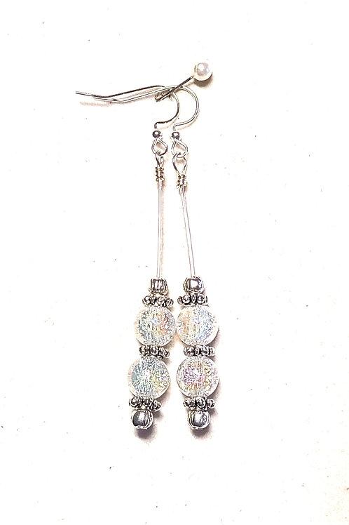 Crackle Quartz Earrings