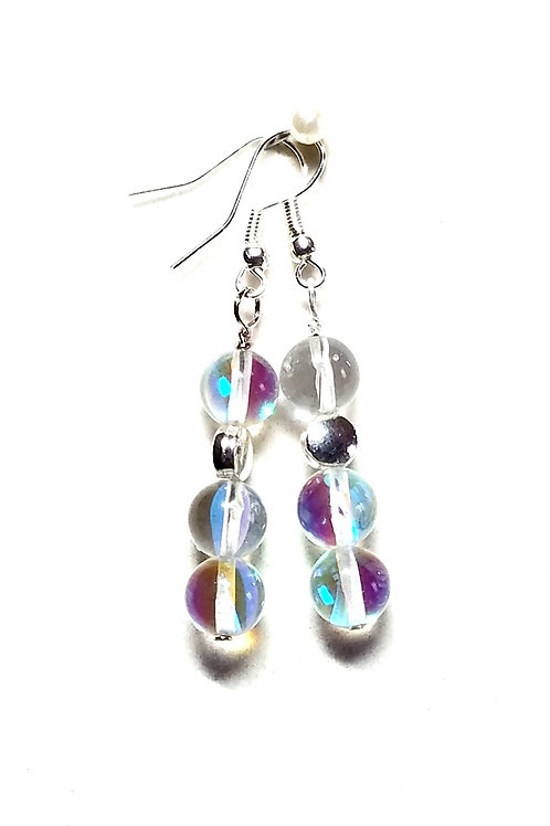Angel Aura Quartz Earrings
