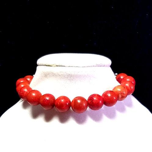 Coral Diffuser Bracelet -Medium
