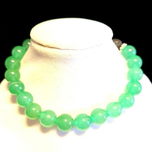 Green Aventurine Diffuser Bracelet -Large