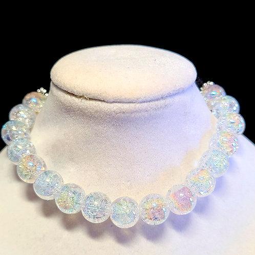 Crackle Quartz Diffuser Bracelet - Large