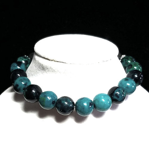 Chrysocolla Diffuser Bracelet -Medium