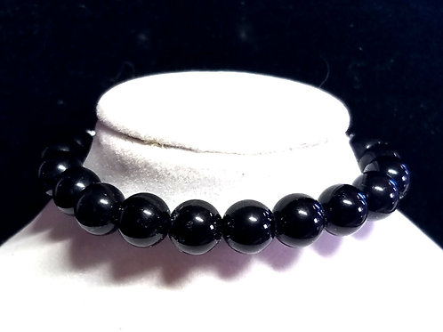 Rainbow Obsidian Diffuser Bracelet - Medium