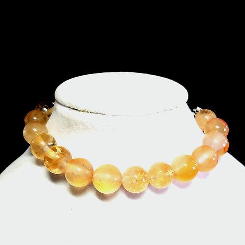 Citrine Diffuser Bracelet -Medium