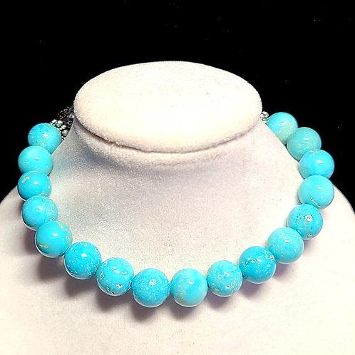 Turquoise Diffuser Bracelet - Large