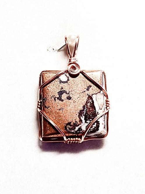 Copper in Jasper Pendant