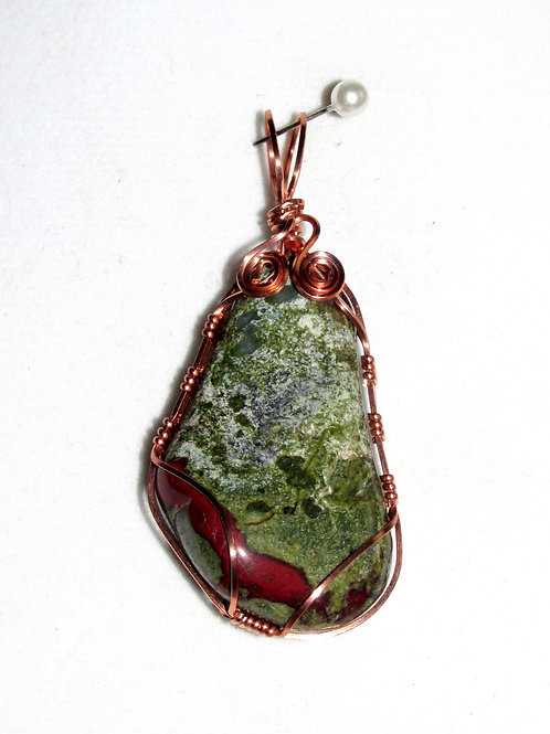Dragonsblood Jasper Pendant