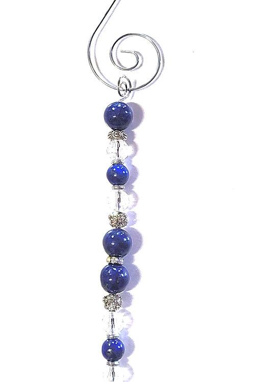 Lapis Lazuli Icicle Ornament