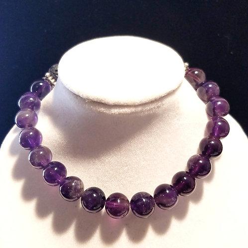 Amethyst Diffuser Bracelet -Large