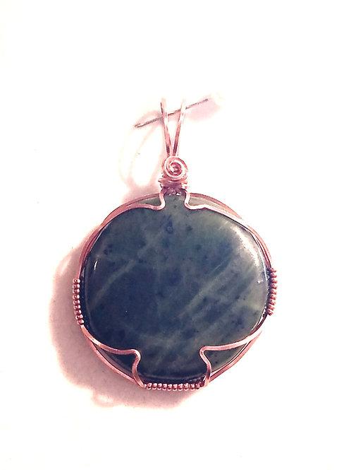 Green Jade Pendant