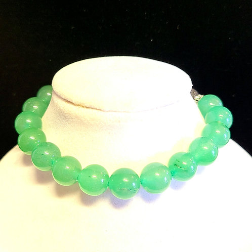 Green Aventurine Diffuser Bracelet -Medium