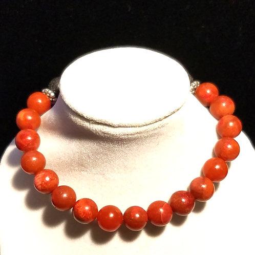 Coral Diffuser Bracelet -Large