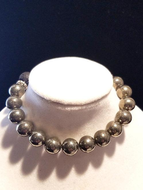 Pyrite Diffuser Bracelet - Medium
