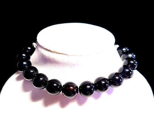 Black Onyx Diffuser Bracelet - Medium