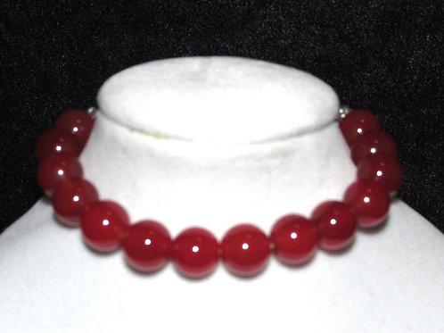 Carnelian Diffuser Bracelet - Medium