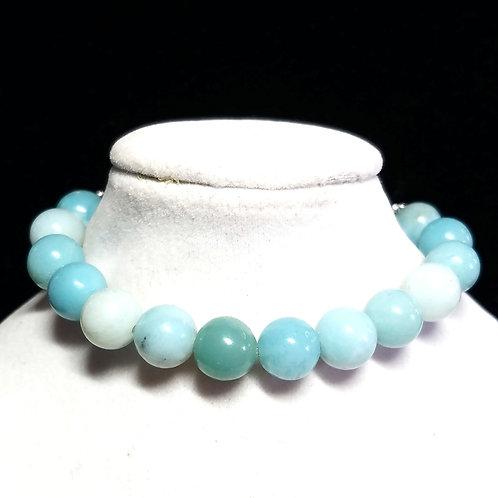 Amazonite Diffuser Bracelet -Medium