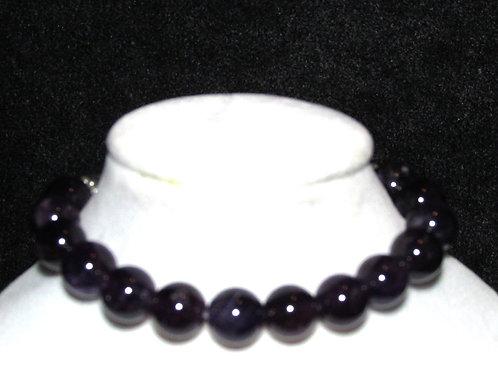 Amethyst Diffuser Bracelet -Medium