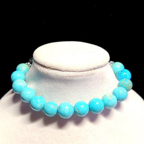 Turquoise Diffuser Bracelet - Medium