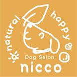 Dog Salon nicco ドッグサロンニッコ ロゴ