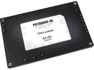 TDK Lambda Announces Improved Efficiency 1000 Watt AC-DC Baseplate Cooled Modules